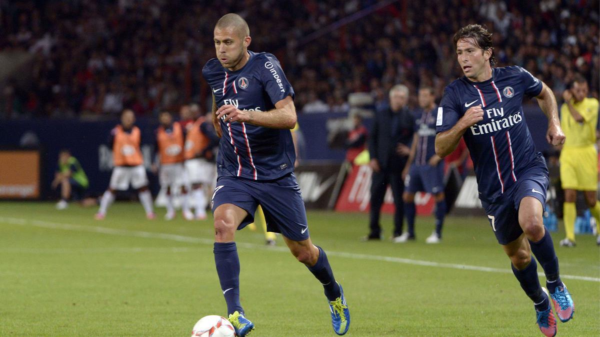 Jérémy Ménez - Maxwell, PSG