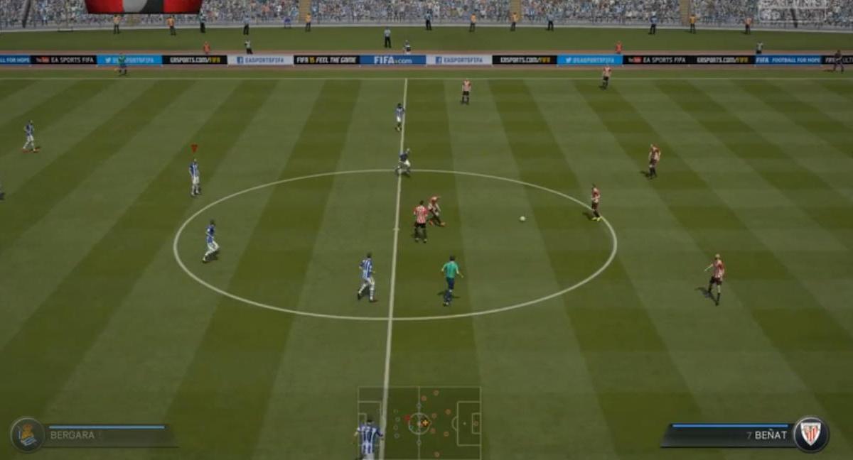 Un bug qui rend fou sur FIFA 15 ?