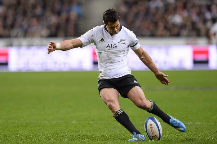 Dan Carter, ici face à la France en 2013