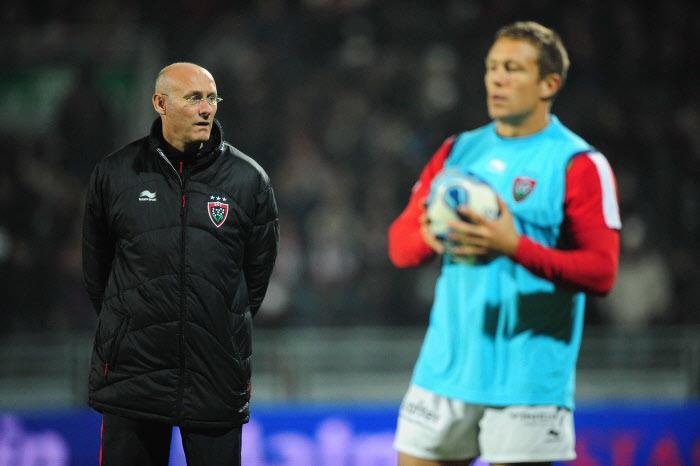 Bernard Laporte et Jonny Wilkinson, RC Toulon