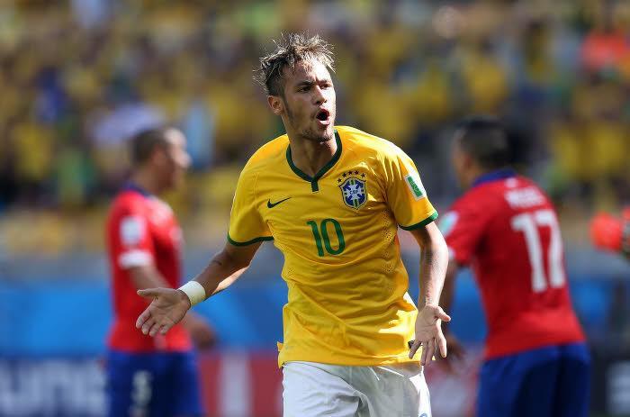Neymar, Brésil