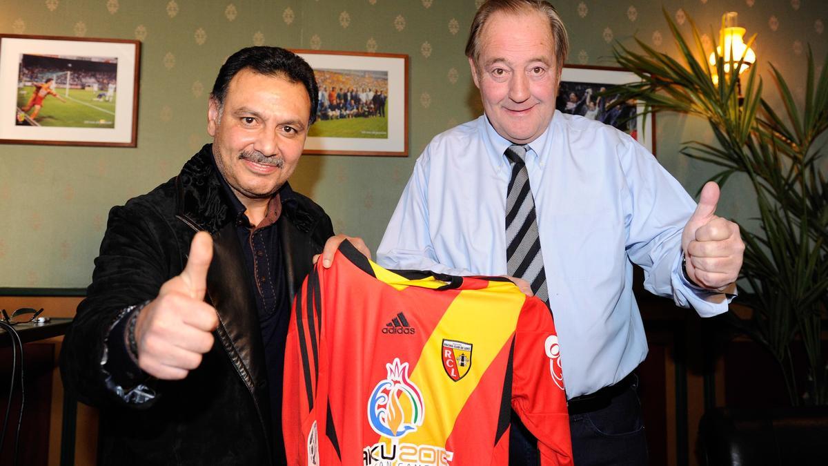Hafiz Mammadov & Gervais Martel, RC Lens