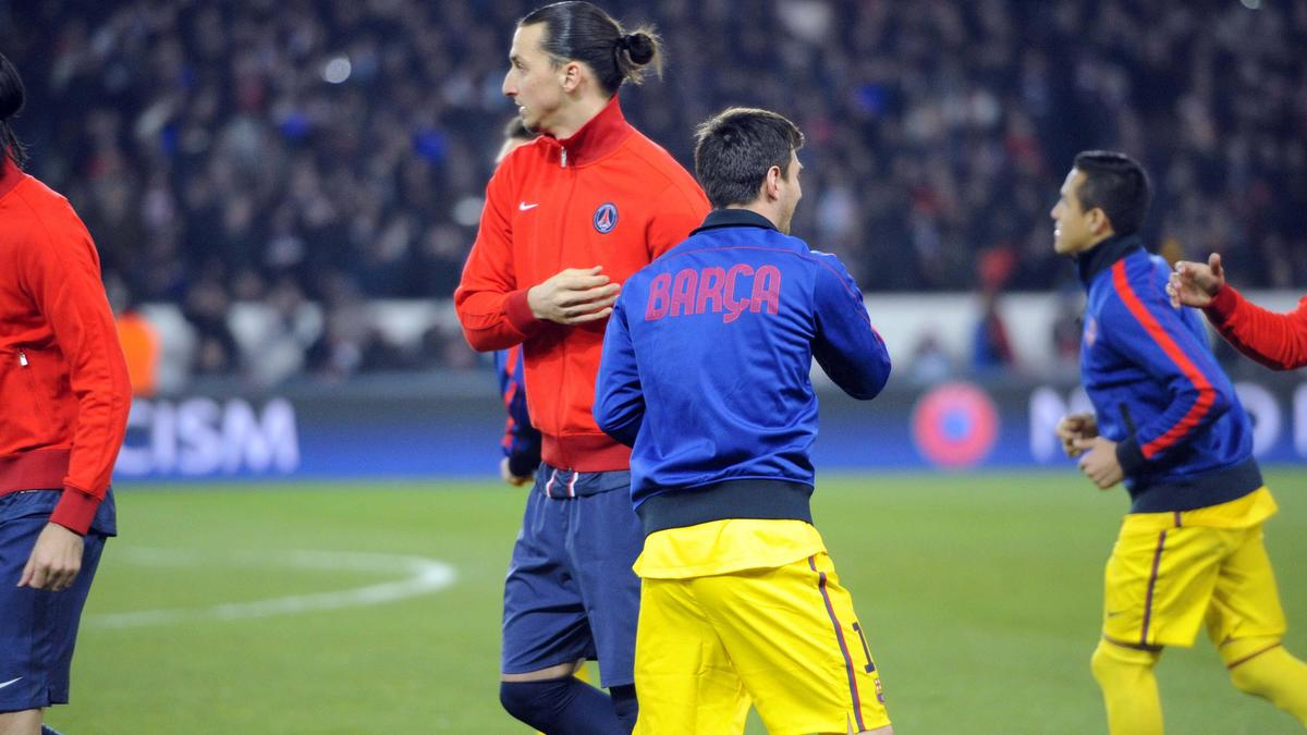 Zlatan Ibrahimovic - Lionel Messi