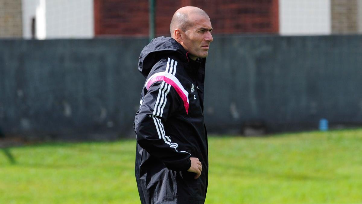 Ce caprice de Zidane qui fait parler en Espagne !