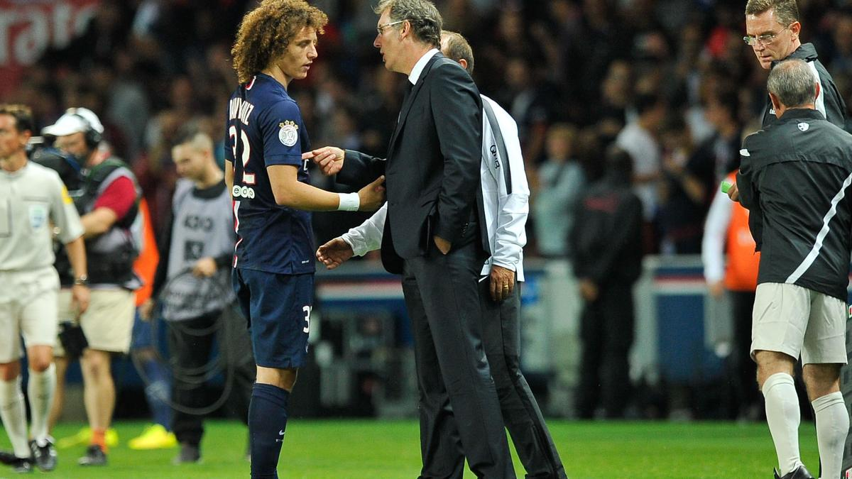 David Luiz - Laurent Blanc, PSG