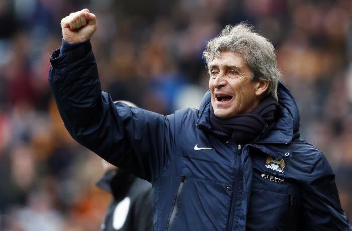 Manuel Pellegrini, Manchester City