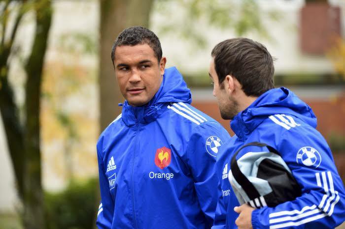 Thierry Dusautoir et Morgan Parra, XV de France