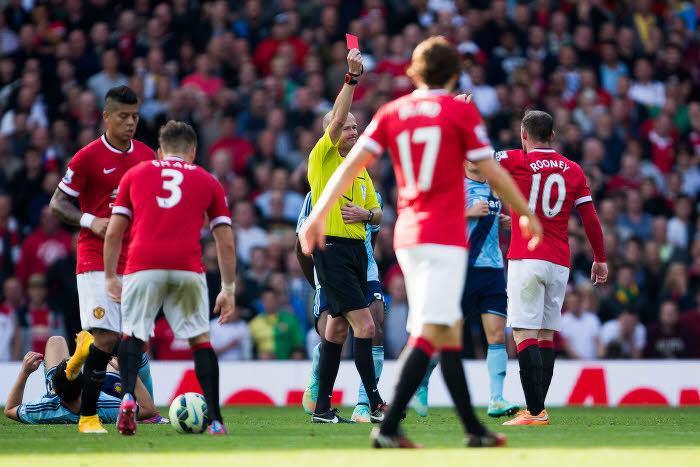 Carton rouge pour Wayne Rooney