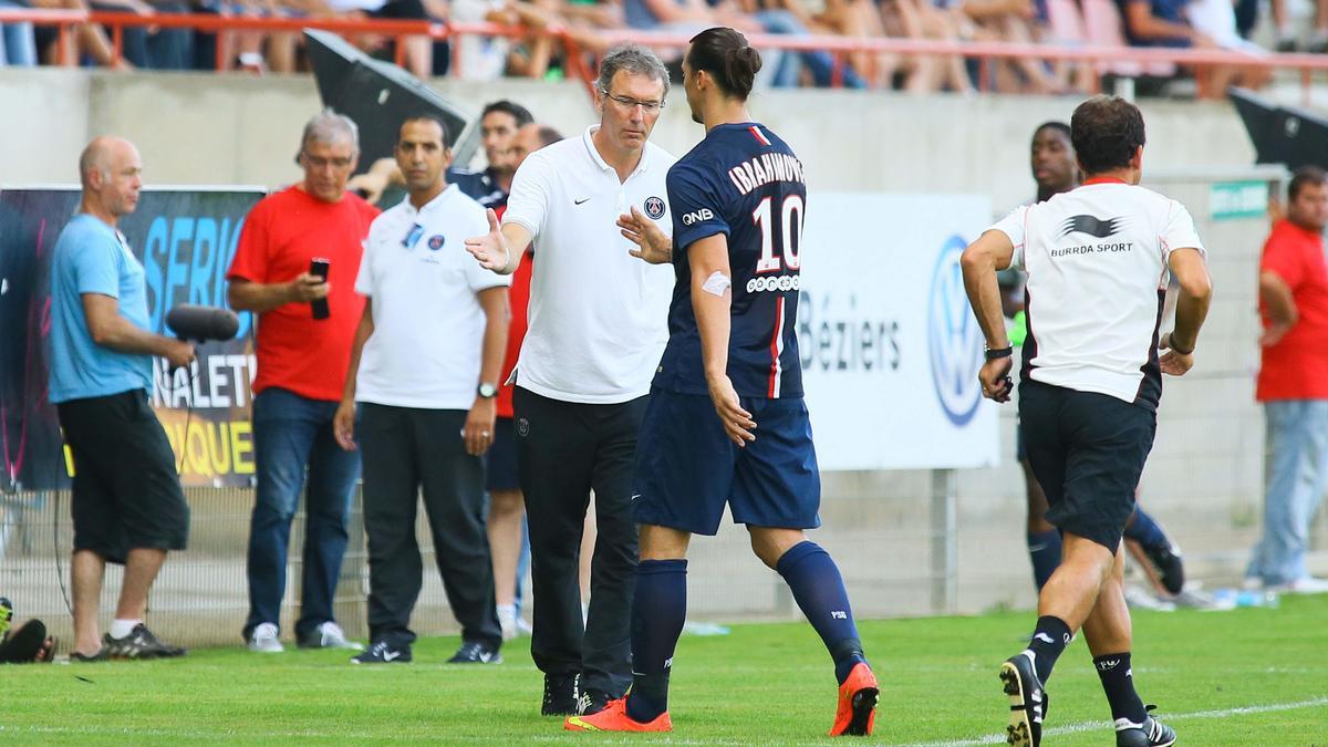 PSG : Quand Laurent Blanc évoque le malaise Zlatan Ibrahimovic face aux journalistes