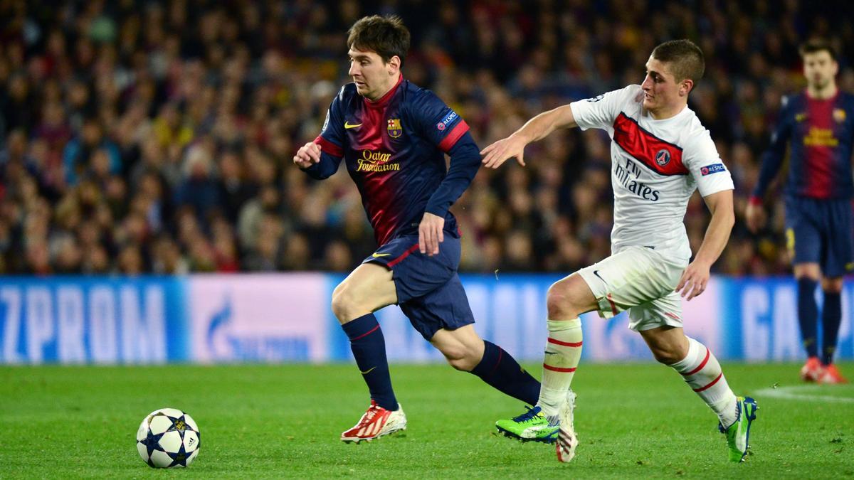 Lionel Messi - Marco Verratti