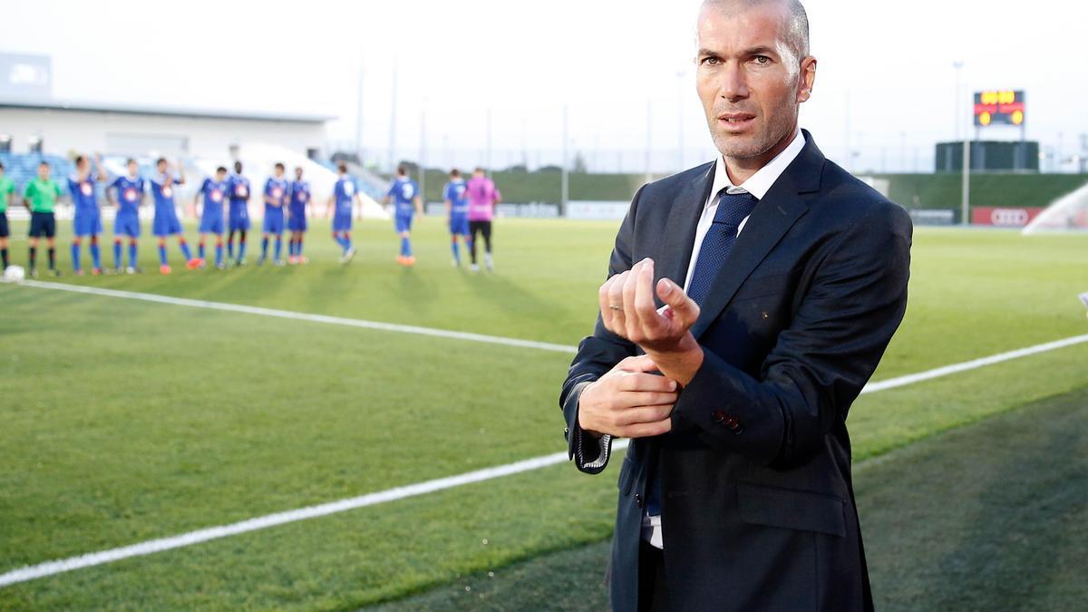 Zinedine Zidane… Le Real Madrid serait totalement résigné…
