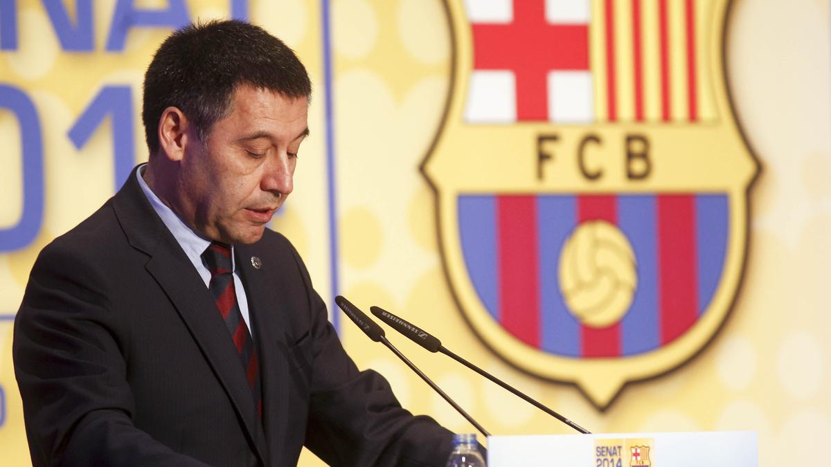 Josep Maria Bartomeu, Barcelone