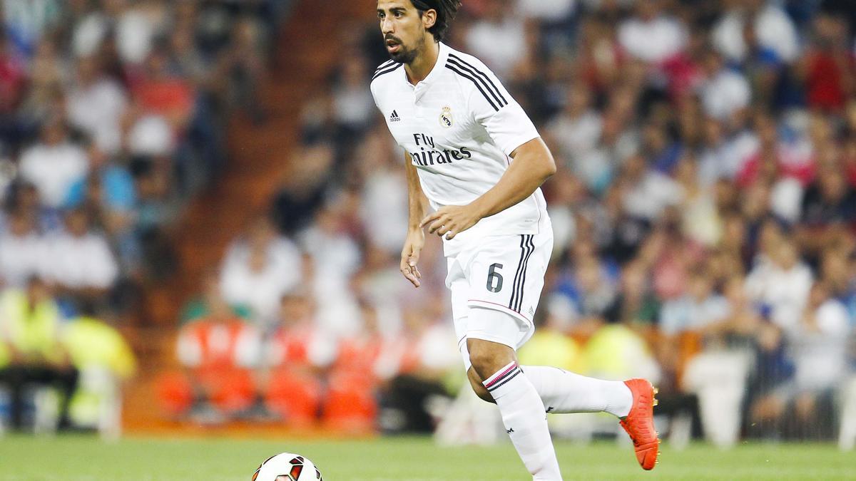 Sami Khedira au Real Madrid