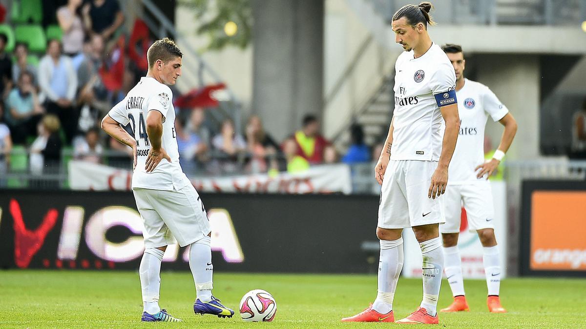 Marco Verratti - Zlatan Ibrahimovic, PSG