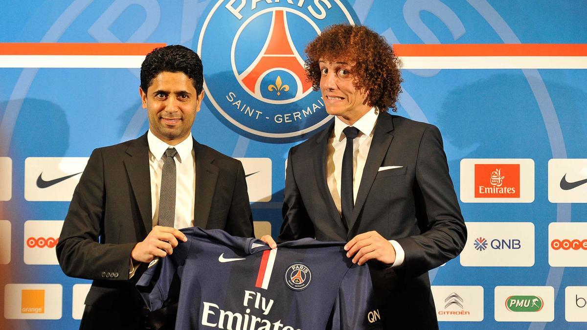 Mercato - PSG - Al-Khelaïfi : «David Luiz vaut plus que 50M€ !»