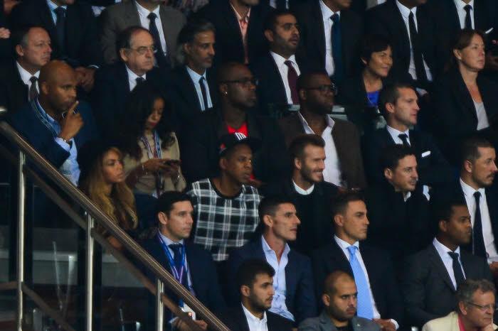 PSG/Barcelone : Jay-Z, Beyoncé... Dans les coulisses de la corbeille du Parc des Princes