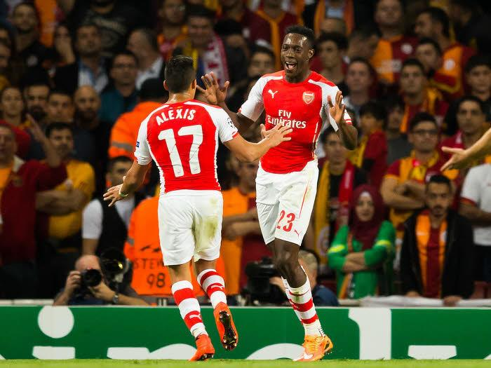 Danny Welbeck et Alexis Sanchez, Arsenal