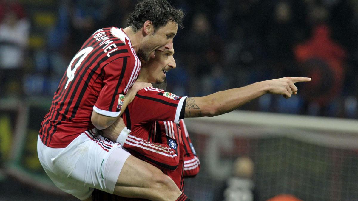 Mark Van Bommel & Zlatan Ibrahimovic
