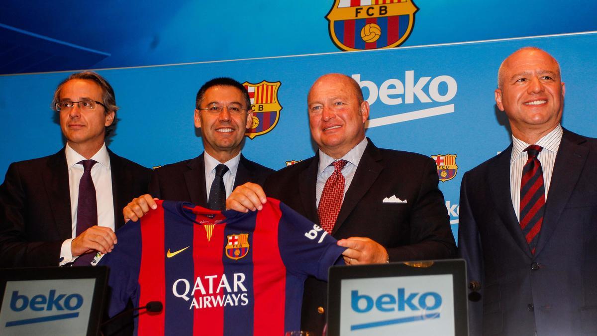 les dirigeants du FC Barcelone