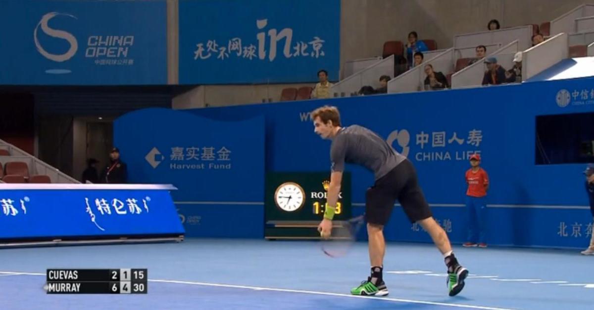 Tennis : Un point incroyable lors d'un match d'Andy Murray ! (vidéo)