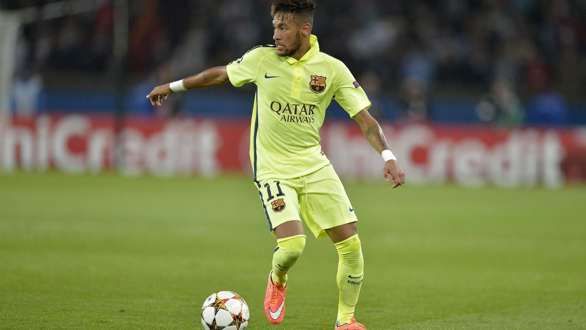 Neymar Junior au FC Barcelone