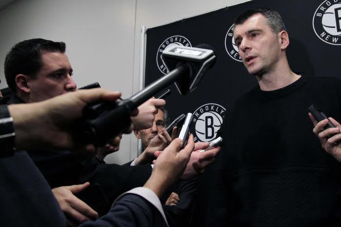 Mikhail Prokhorov, Brooklyn Nets