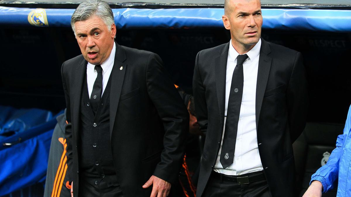 Real Madrid : Ancelotti monte au créneau pour assurer la défense de Zidane !