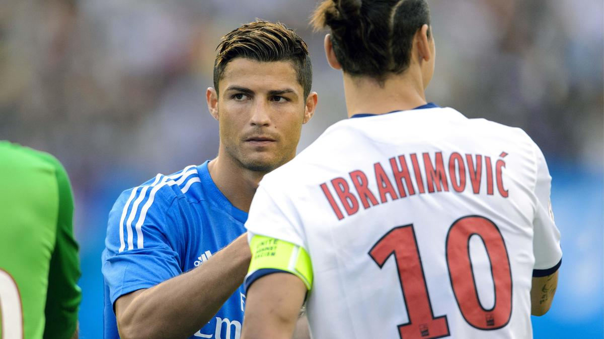 Cristiano Ronaldo - Zlatan Ibrahimovic