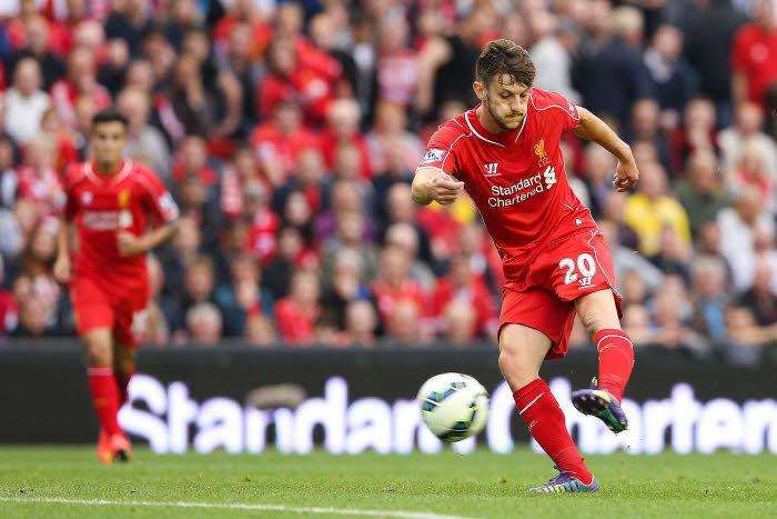 Adam Lallana, Liverpool