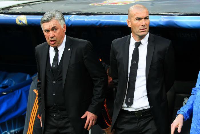 Carlo Ancelotti - Zinedine Zidane, Real Madrid