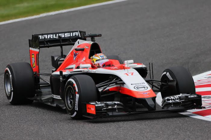 Jules Bianchi, Marussia