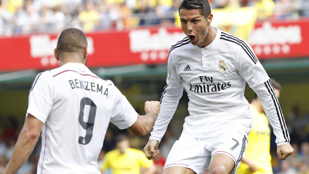 Karim Benzema et Cristiano Ronaldo, Real Madrid