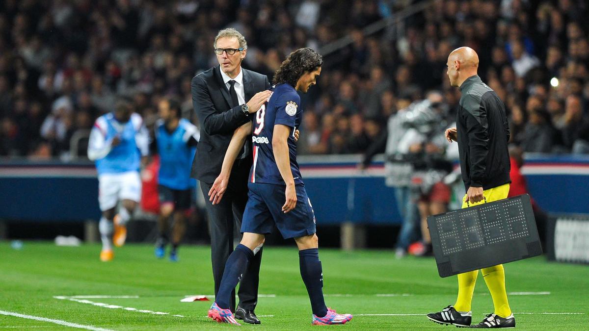 PSG : Laurent Blanc annonce du changement pour Edinson Cavani !