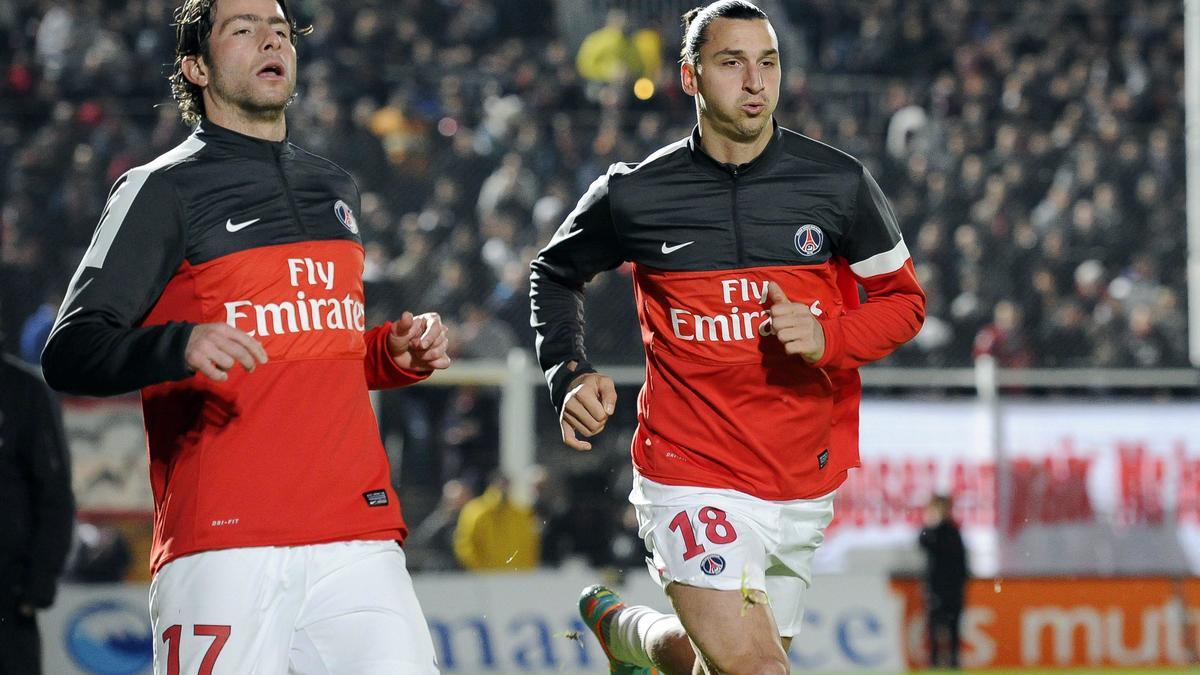Zlatan Ibrahimovic - Maxwell, PSG