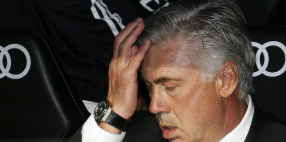 Ancelotti sur le banc du Real Madrid