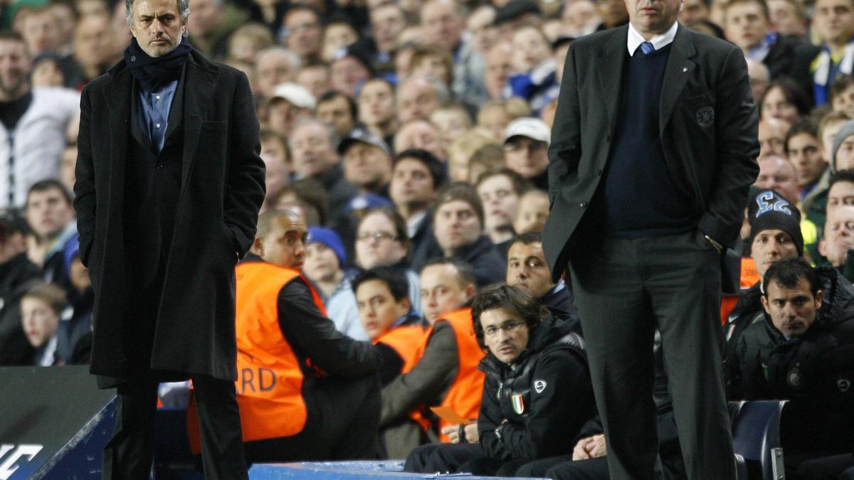 José Mourinho - Carlo Ancelotti