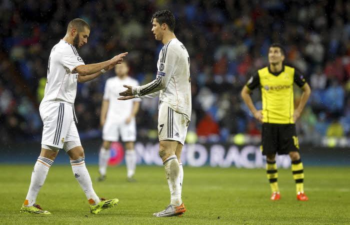 Benzema et Ronaldo au Real Madrid