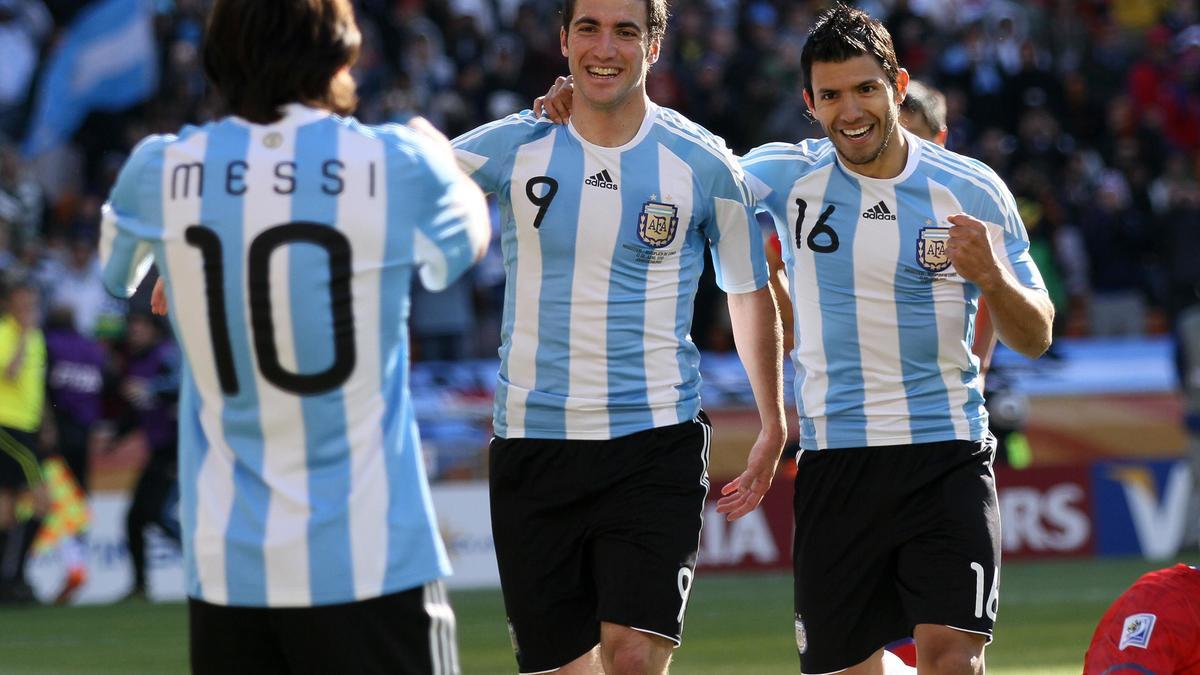 Lionel Messi - Gonzalo Higuain