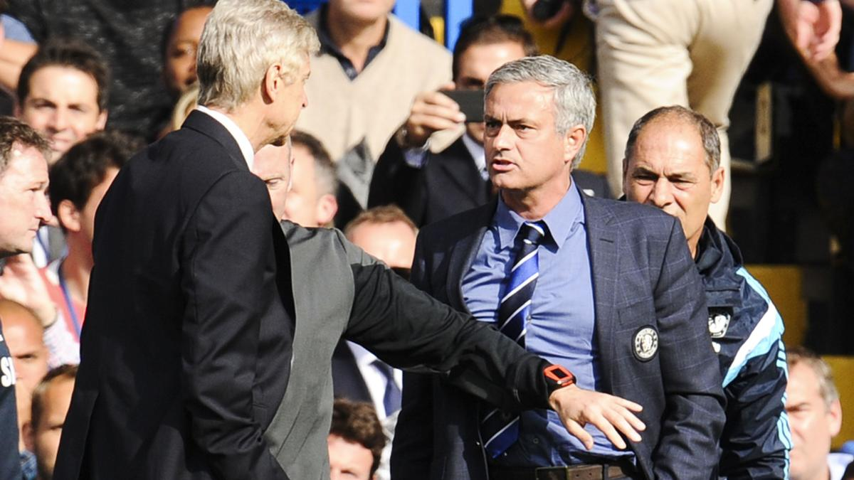 Arsène Wenger & José Mourinho