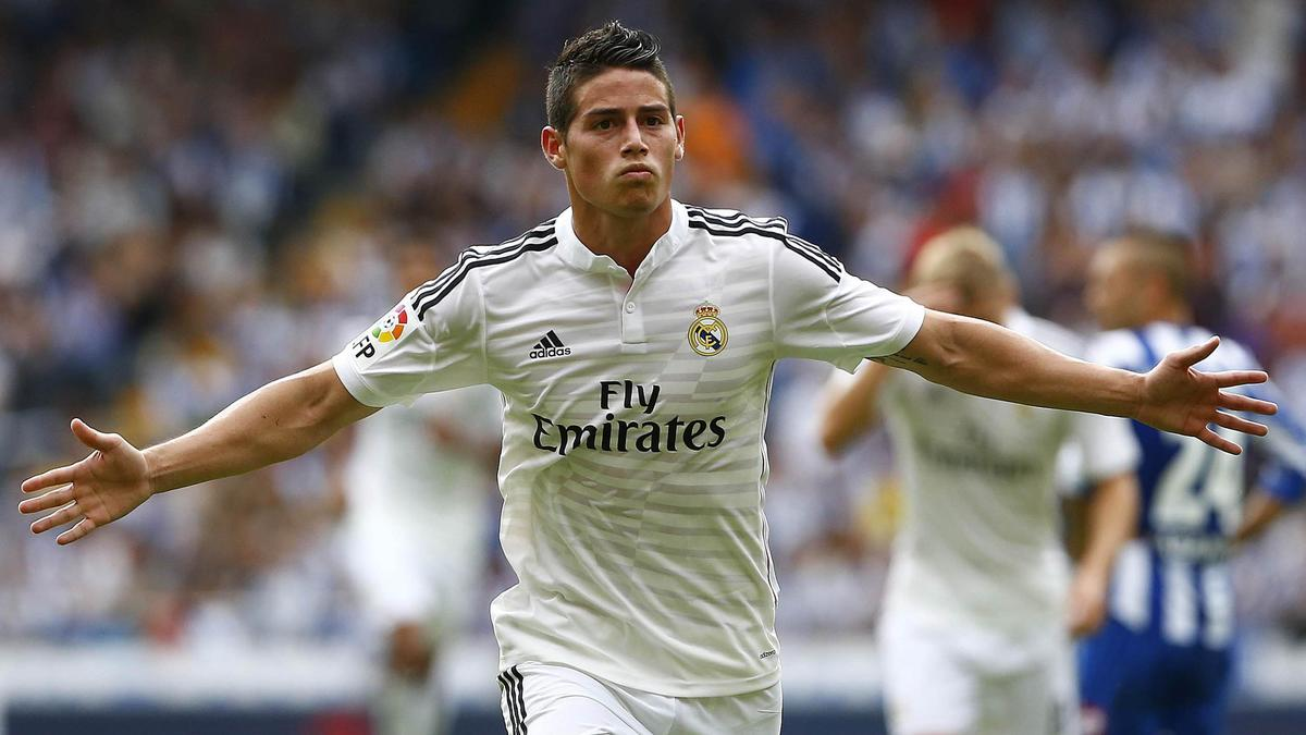 James Rodriguez, Real Madrid