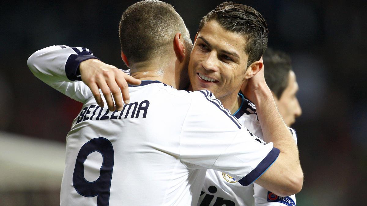 Karim Benzema & Cristiano Ronaldo