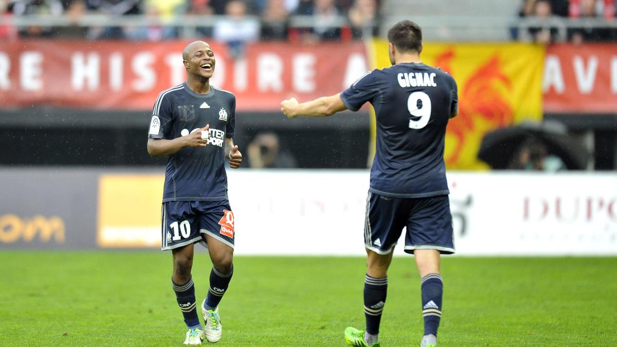 André Ayew - André-Pierre Gignac, OM