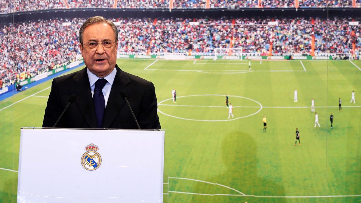 Après la déroute dans le derby, les joueurs recadrés par Florentino Pérez
