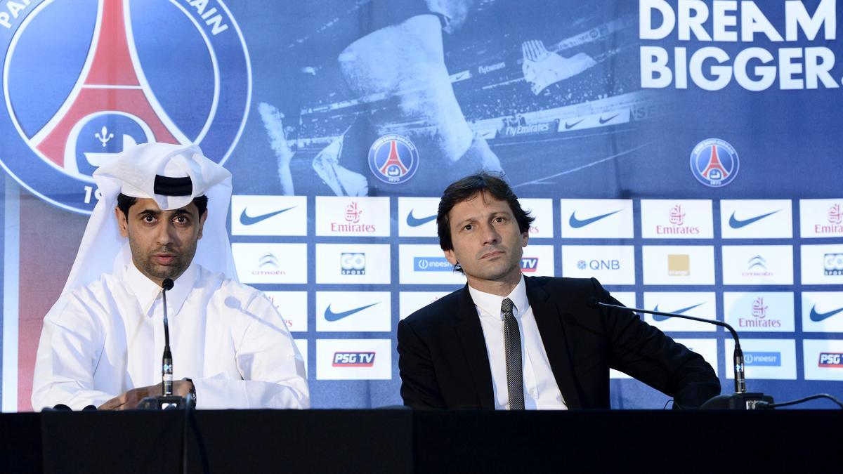 Nasser Al-Khelaïfi - Leonardo, PSG