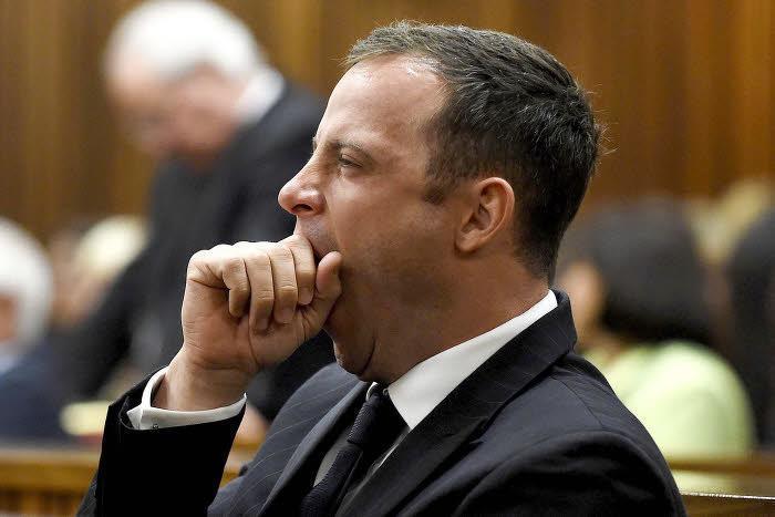 Oscar Pistorius pendant son procès