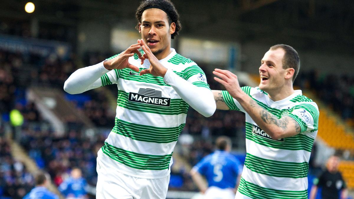 Virgil Van Dijk, Celtic Glasgow