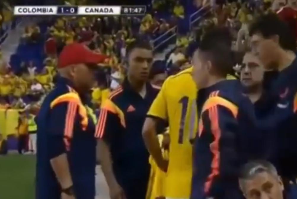 Real Madrid : James Rodriguez au secours d'un fan ! (vidéo)