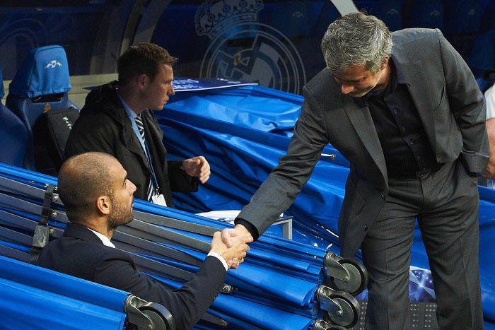 Pep Guardiola, José Mourinho