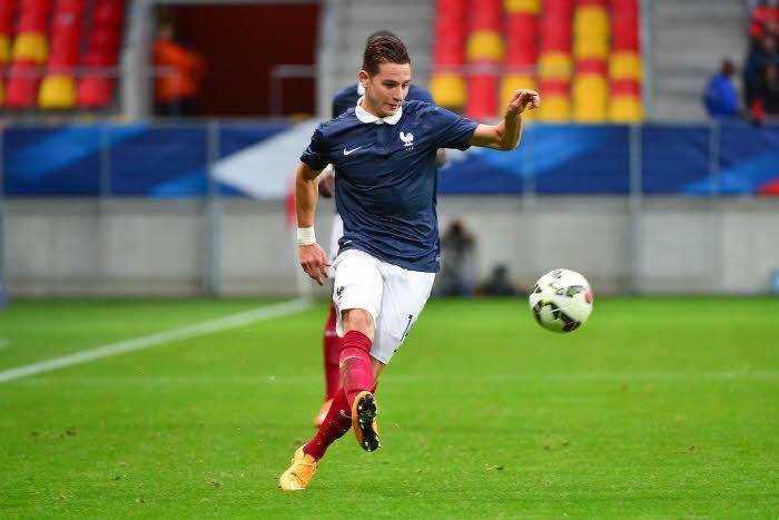 Florian Thauvin, équipe de France espoirs
