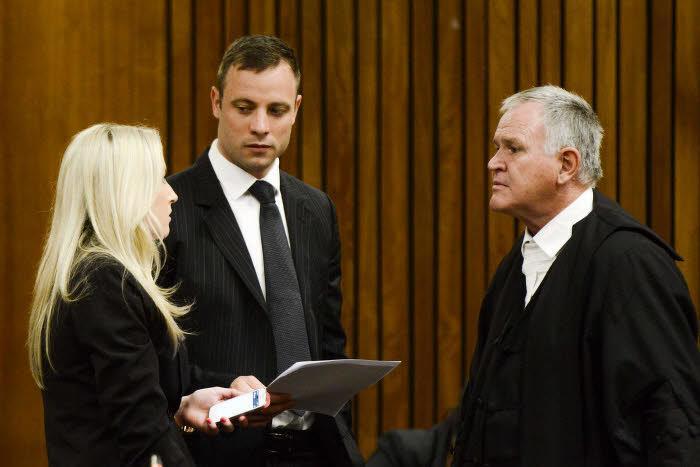 Oscar Pistorius au tribunal pour son procès